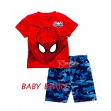 Baby Clothes - Spiderman Red Tee (1 set)