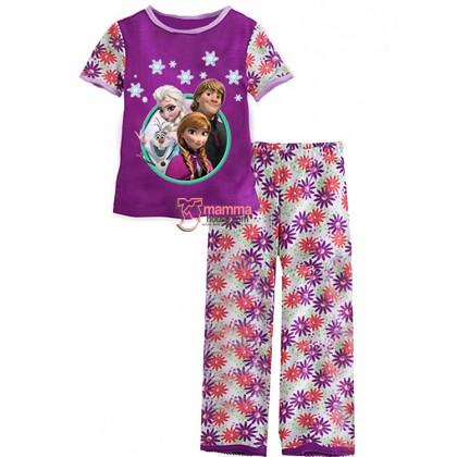 Baby Pajamas - Anna Elsa Kristoff Purple (2-7yrs)