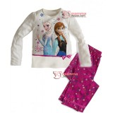Baby Pajamas - 2 pcs Long Anna Elsa Pink Pants