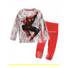 Baby Pajamas - Spiderman Grey Pajamas (yr 8-12)