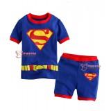 Baby Set - Superman Short Sleeves