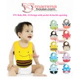 Baby Bib - PVC bib with pocket / pc